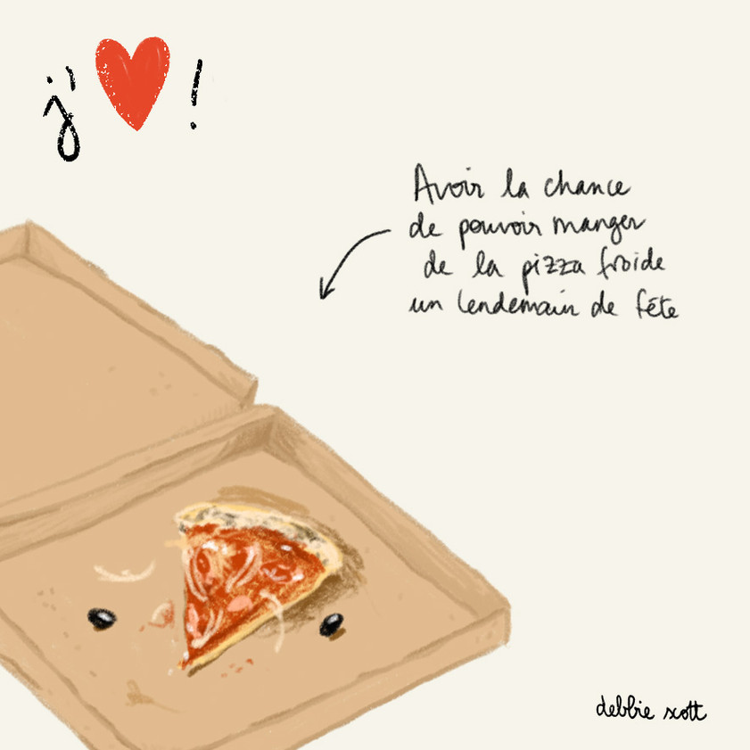 Pizza froide