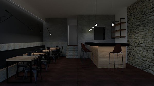 Proyecto Àngel Guimerà   Reforma Integral Restaurante   RM-HOGAR