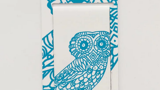 Magnetic Bookmark - Wise Owl
