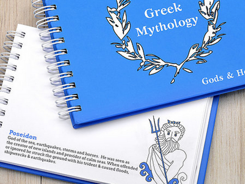 Greek Mythology Notebook