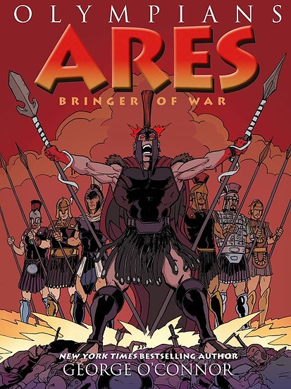 Olympians Graphic Novel - Ares