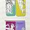 Thumbnail: Greek Gods Mini Bookmarks