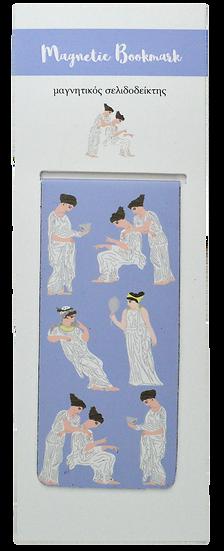 Greek Women Magnetic Bookmark
