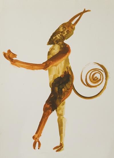 Sidney Nolan : The Greek Series Postcard