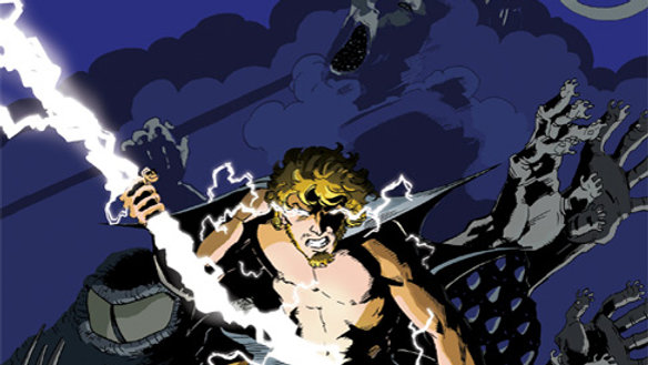 Olympians Graphic Novel - Zeus
