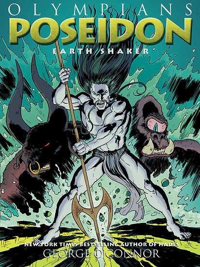 Olympians Graphic Novel - Poseidon