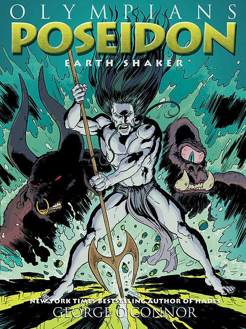 Poseidon -Olympians Graphic Novel