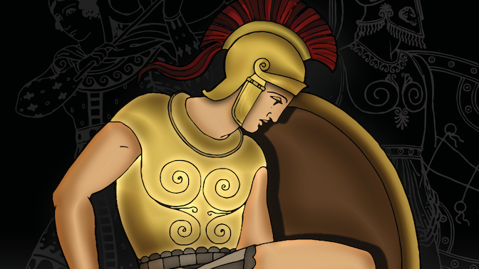 Ancient Warriors Colouring Book with Colouring Pencils