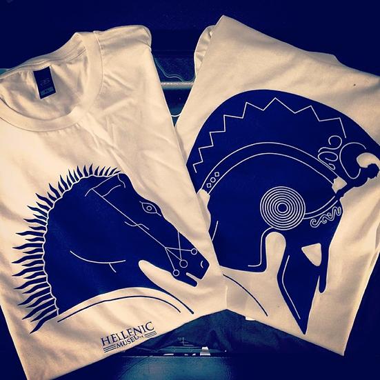 Hellenic Museum T-Shirt - Horse