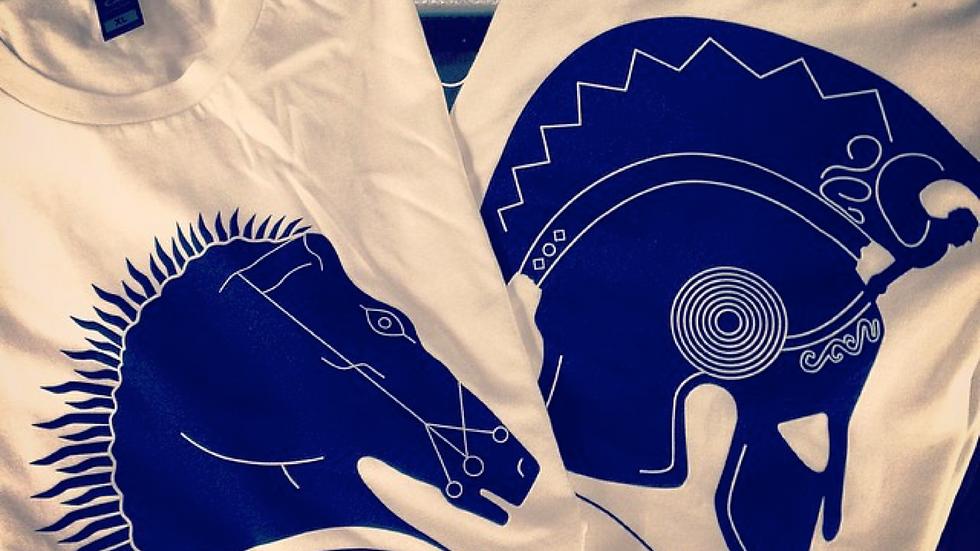 Hellenic Museum Children's T-Shirt - Horse