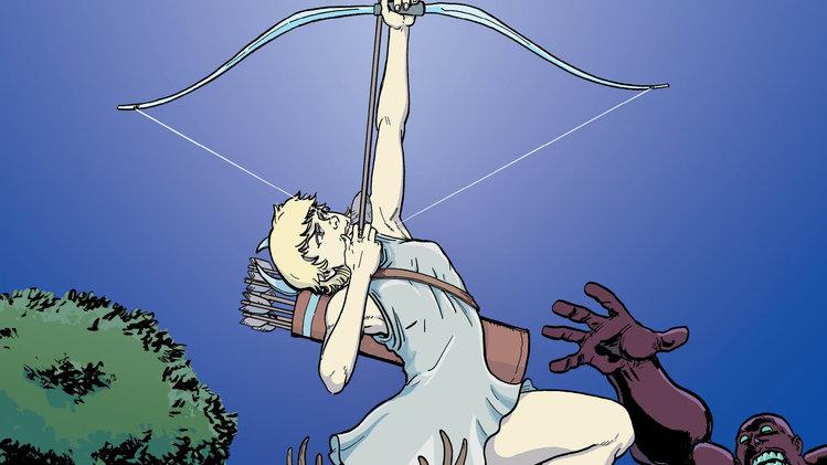 Olympians Graphic Novel - Artemis