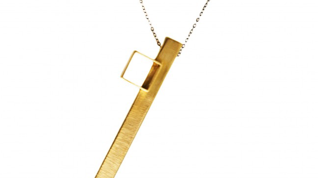 Contemporary Pendant necklace