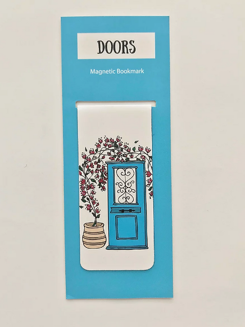 Magnetic Bookmark - Doors of Greece