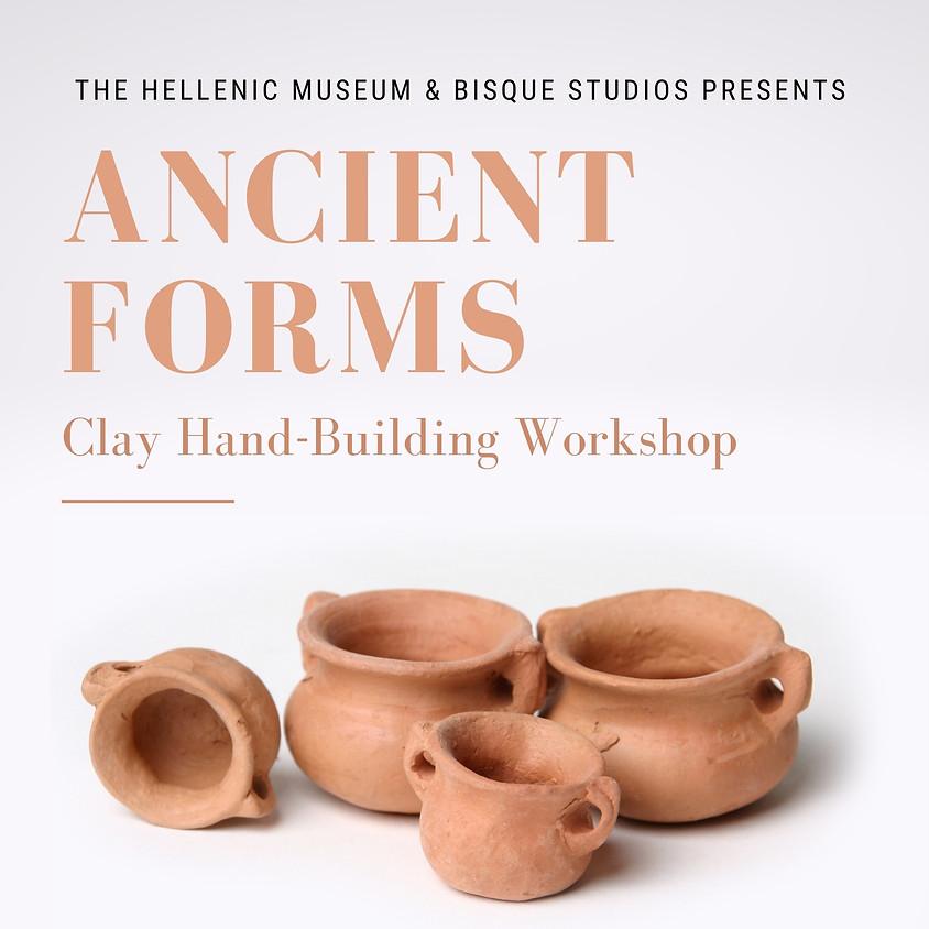 Ancient Forms - Clay Handbuilding Workshop