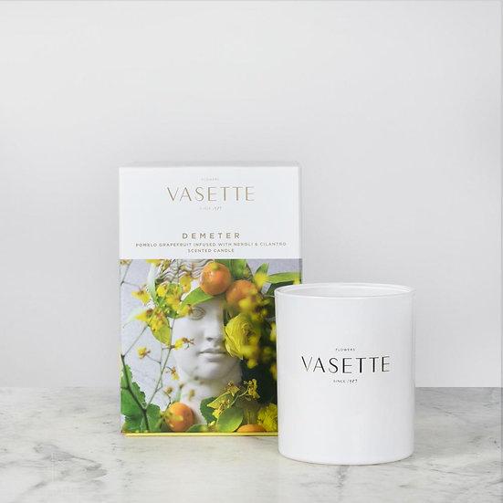 Flowers Vasette candle - Demeter
