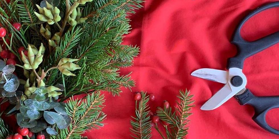 Pame Flower - CHRISTMAS WREATH WORKSHOP