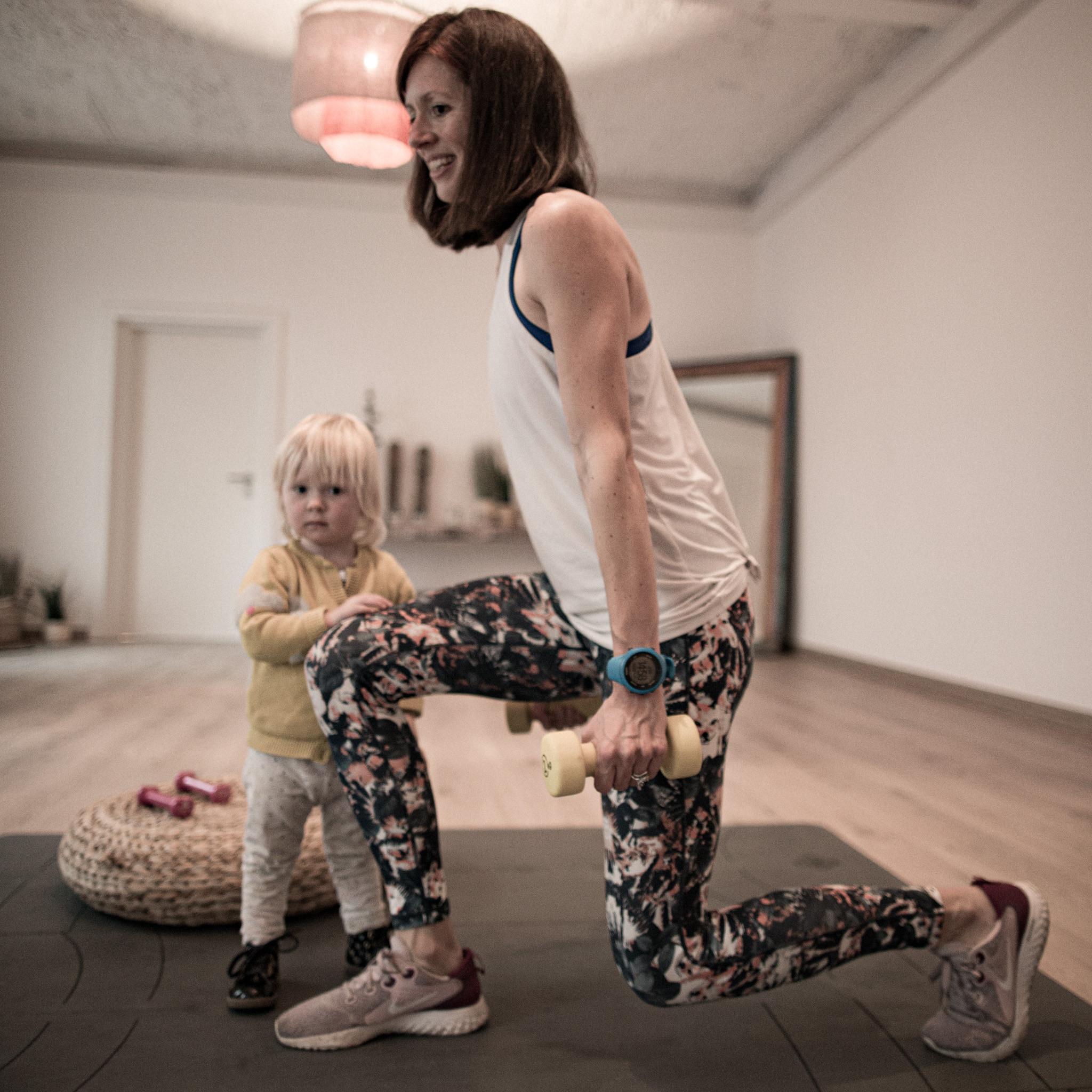 Emi - Post natal fitness class