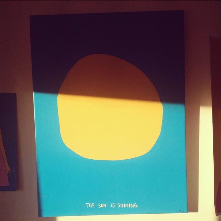 The sun is shining / 2015