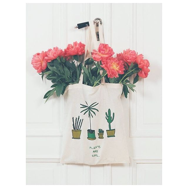Plants are Cool totebag / 2016