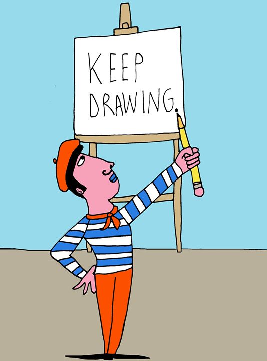 Keep Drawing  / 2014