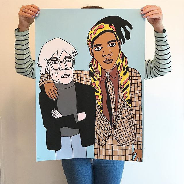 Warhol & Basquiat / 2017