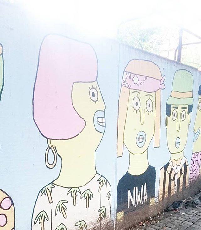 Mural in Oslo / 2016