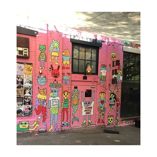 Mural Blå / 2018