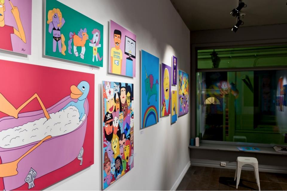 Funfair exhibiton / 2012