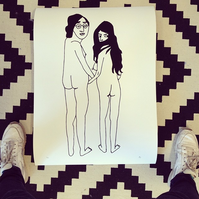John&Yoko Print / 2015