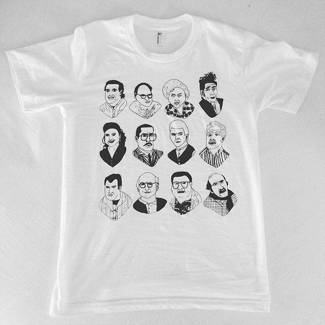 Seinfeld tshirt / 2016