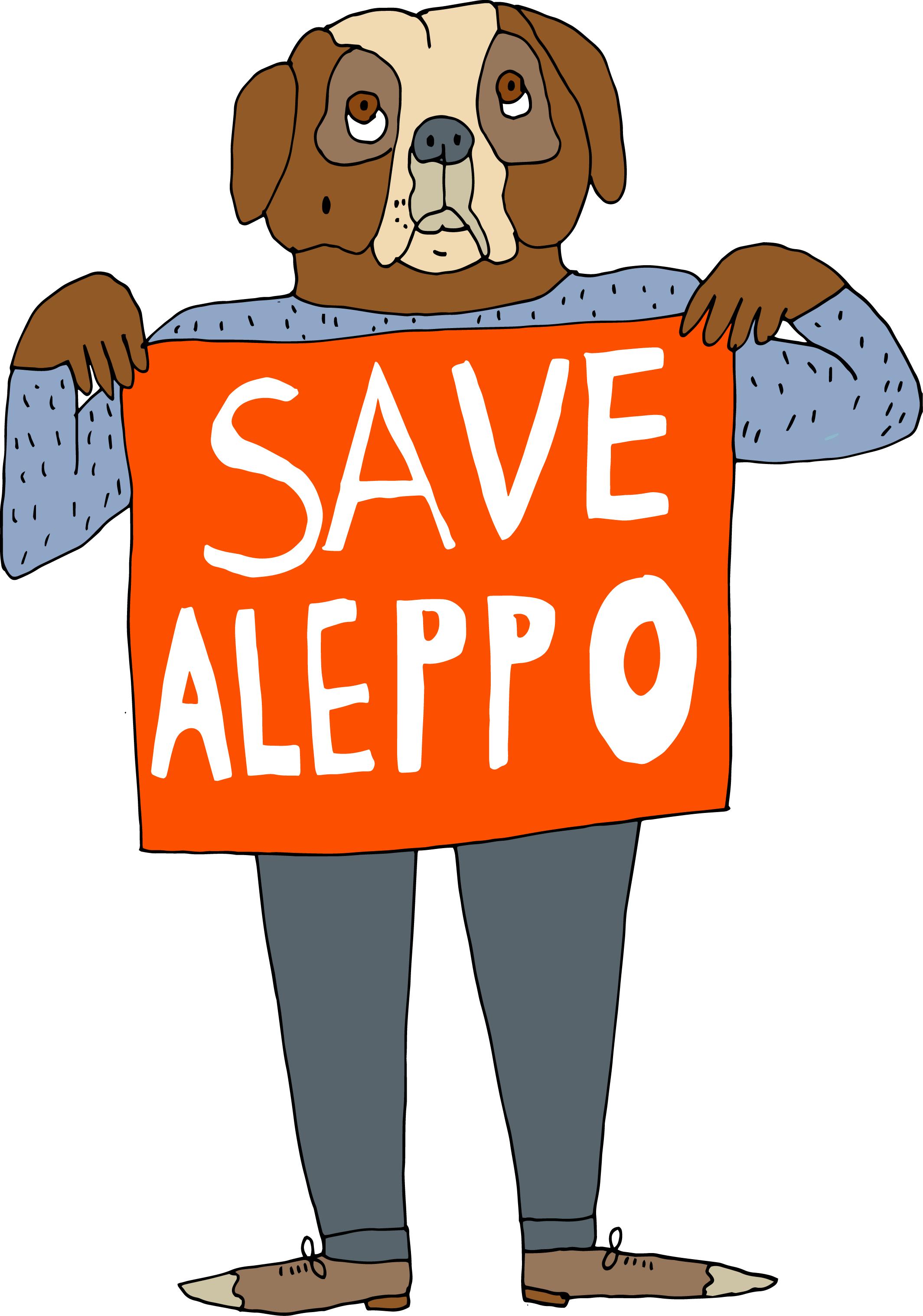Save Aleppo / 2016
