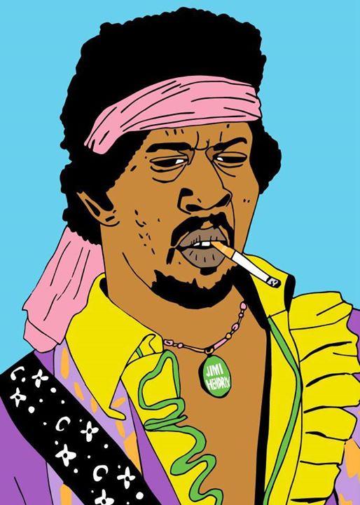Jimi Hendrix  / 2014