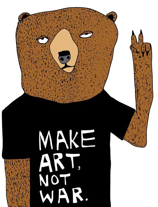 Make Art, Not War / 2013