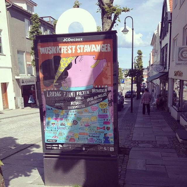 Musikkfest Stavanger poster  / 2014