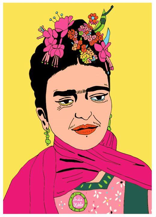 Frida Kahlo  / 2014
