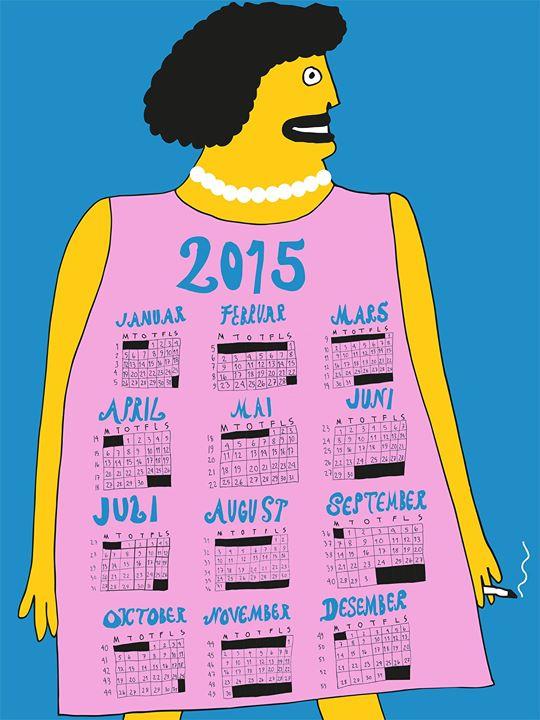 Calendar / 2015