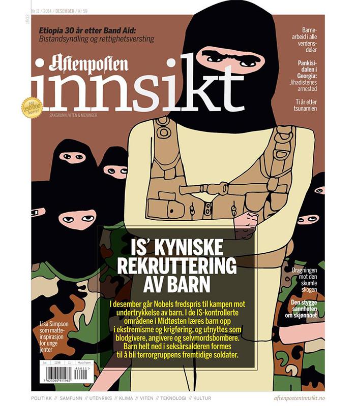 Aftenposten Innsikt cover  / 2014