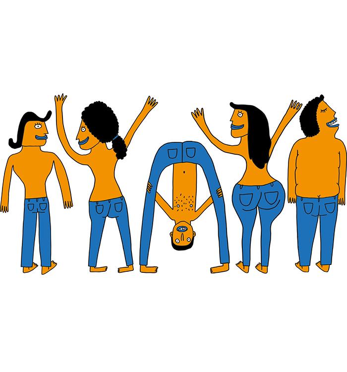 Kvadrat jeans days  / 2014