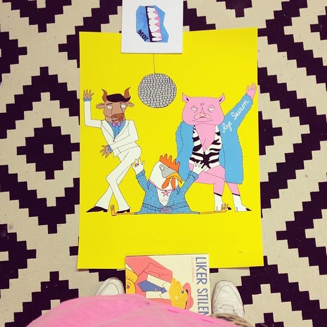 Funky Moi print  / 2014