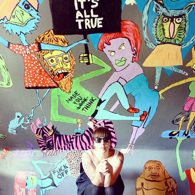 Mural in a livingroom  / 2011