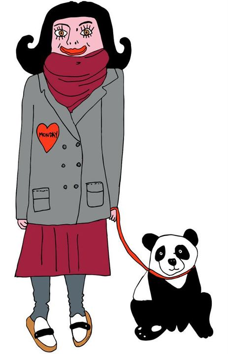 The girl and the panda / 2013