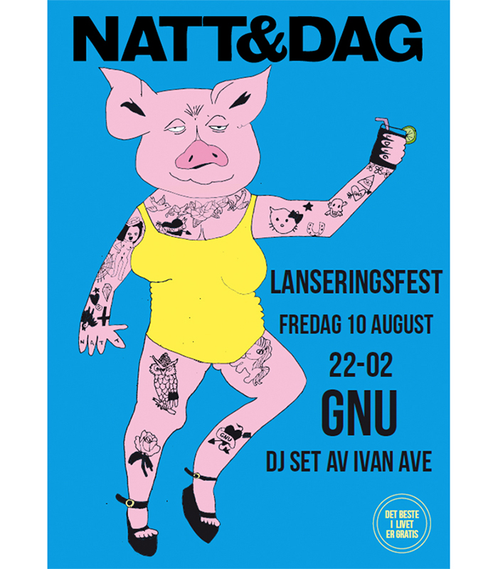 Natt&Dag Poster  / 2011