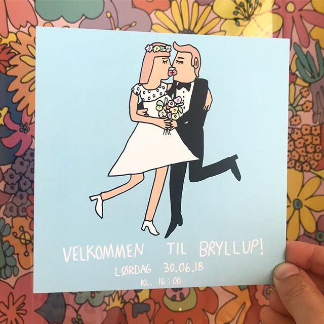 wedding invitation / 2018