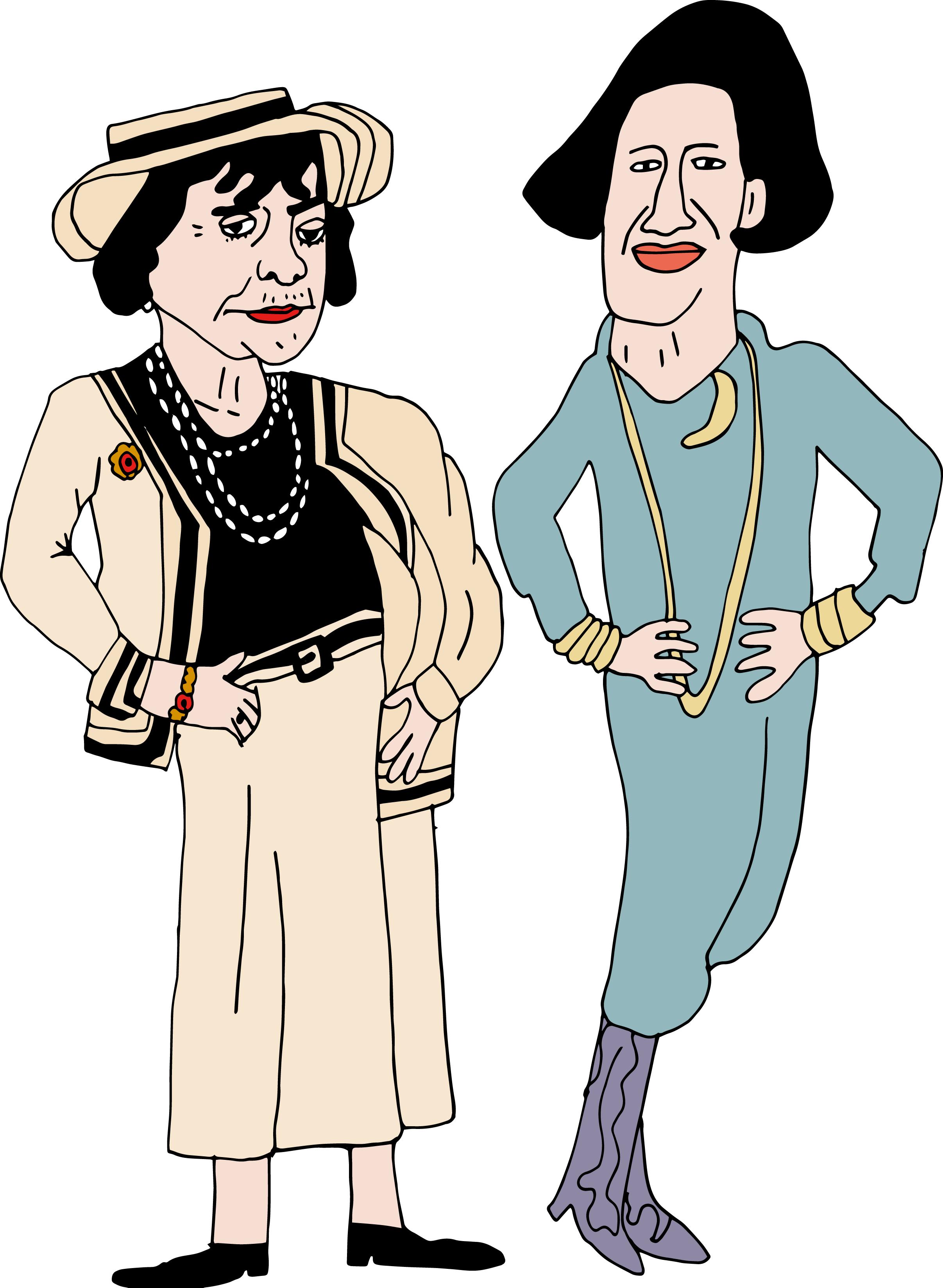 Coco Chanel & Diana Vreeland / 2017