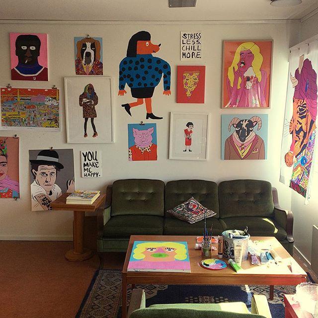 My studio / 2016
