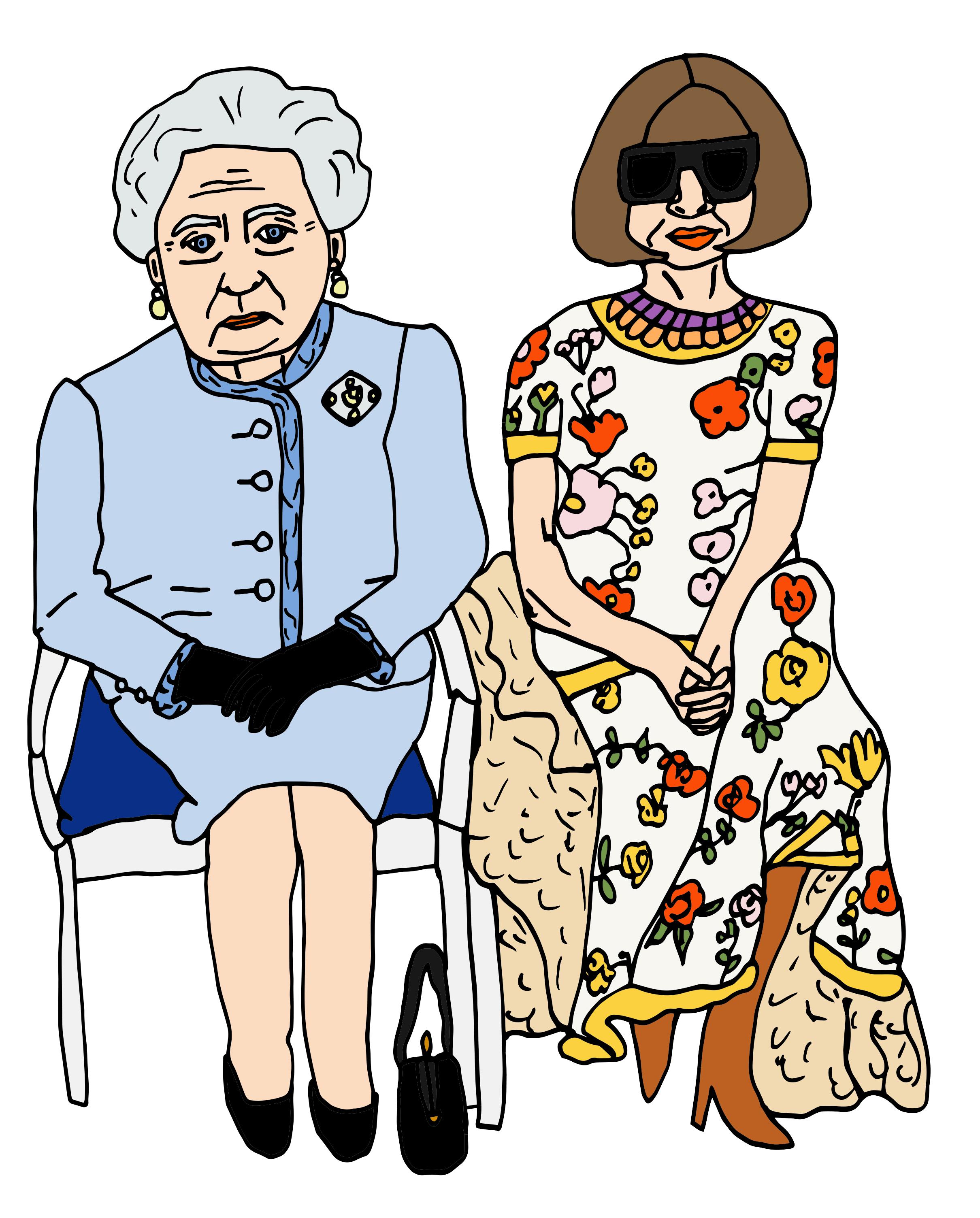 Queen Elizabeth & Anna / 2018