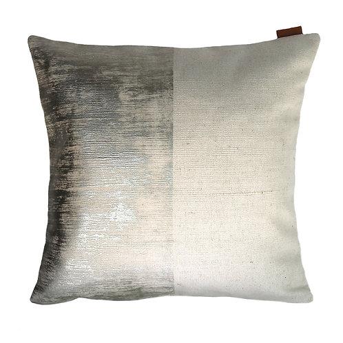 Block Pewter Cushion