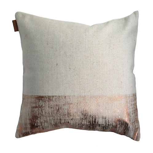 Copper Panel Cushion