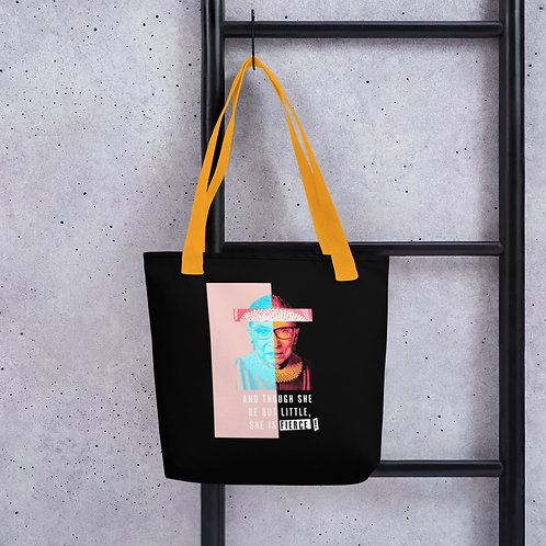 RBG Small but Fierce Tote bag