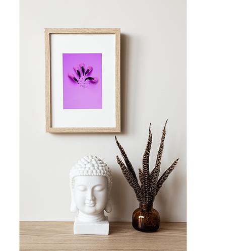 Little Flower Framed poster -Trauma